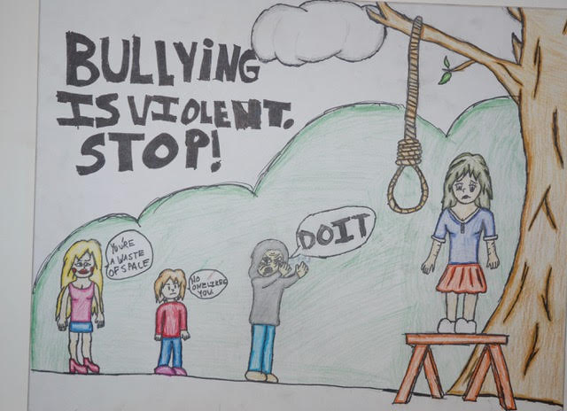 Bullying is violent, STOP!